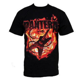 t-shirt metal men's Pantera - Guitar Snake - BRAVADO - 31512008