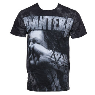 t-shirt metal men's Pantera - Vulgar All Over - BRAVADO - 31512012