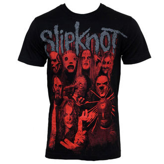 t-shirt metal Slipknot - Red Faces - BRAVADO - 15091097