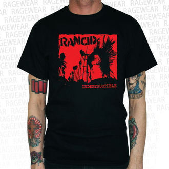 t-shirt metal men's Rancid - Indestructible - RAGEWEAR - 164TSS03
