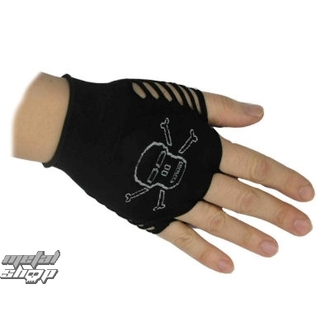 gloves women fingerless nylon Skull 1 - 59040-003