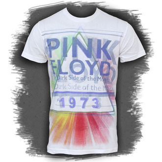 t-shirt metal men's Pink Floyd - Dark Side Mist - LIQUID BLUE - 21807