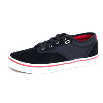 low sneakers men's - Motley - GLOBE - Motley - BLACK-RED