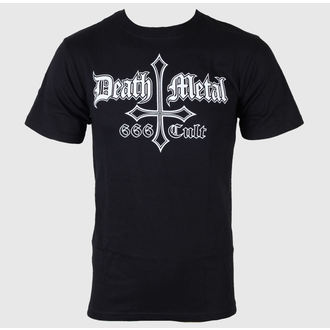 t-shirt metal men's - Death Metal 666 Cult - Just Say Rock - BLM104