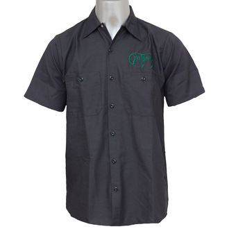 shirt men Obituary - EMB Logo - GRN / Charcoal - JSR, Just Say Rock, Obituary