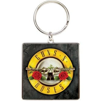 key ring Guns N Roses - Logo - HMB - KEYGNRSQ1