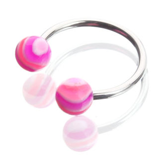 piercing jewel - Pink / Purple
