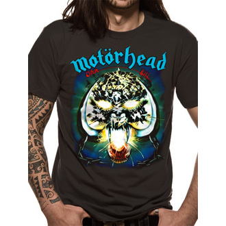 t-shirt metal men's Motörhead - Overkill - ROCK OFF - MHEADTEE04MB