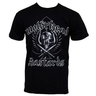 t-shirt metal men's Motörhead - Bastards - ROCK OFF - MHEADTEEX01MB