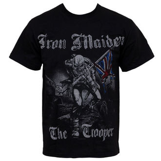 t-shirt metal men's Iron Maiden - Sketched Trooper - ROCK OFF - IMTEE22MB
