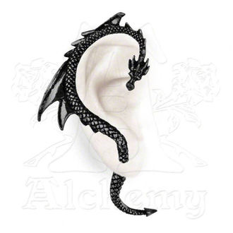 earrings The Dragon's Lure - Black - ALCHEMY GOTHIC - E274B