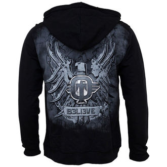 hoodie men TAPOUT - Fierce - Black - 38112