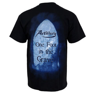 t-shirt metal men's Artillery - One Foot In The Grave - MUSICAT