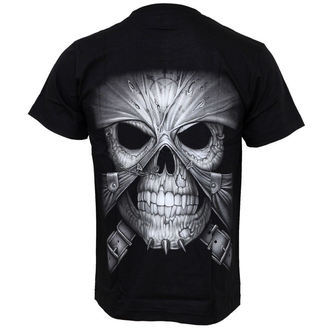 t-shirt men's - Skull And Skin - Hero Buff