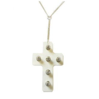 necklace Extreme Largeness - Mirror Cross, Extreme Largeness