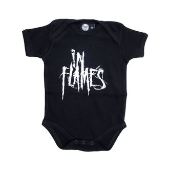 body children's In Flames - Logo - Black - Metal-Kids