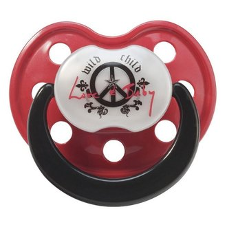 pacifier ROCK STAR BABY - Peace - 90030