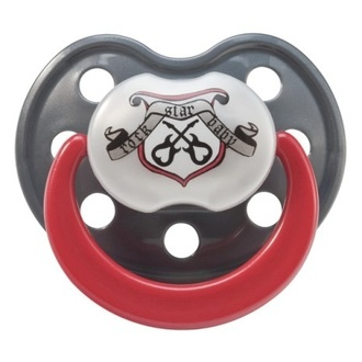 pacifier ROCK STAR BABY - Crest - 90040