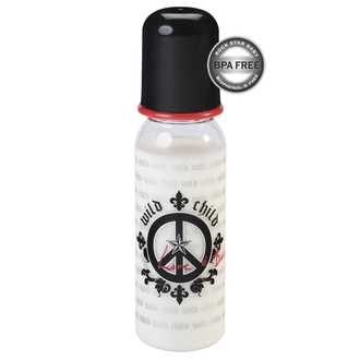 baby bottle (250ml) ROCK STAR BABY - Peace - 90070