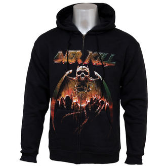 hoodie men with zipper Overkill - Bring Me The Night - NUCLEAR BLAST