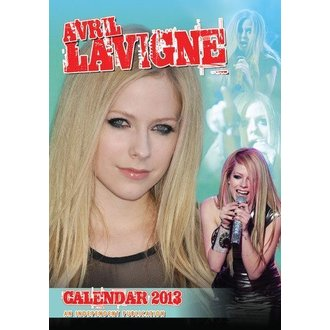 calendar to year 2013 Avril Lavigne - DRM-003