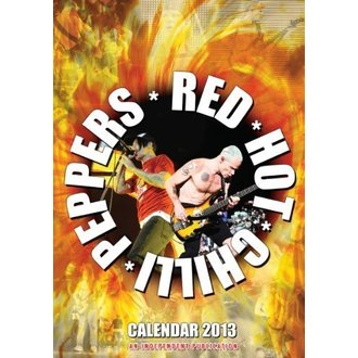 calendar to year 2013 - Red Hot Chilli Peppers - DRM-022