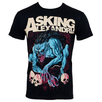 t-shirt metal men's Asking Alexandria - Gargoyle - PLASTIC HEAD - PH7099
