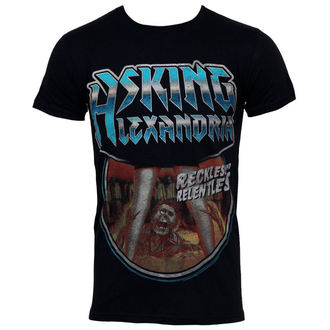 t-shirt metal men's Asking Alexandria - Horror - PLASTIC HEAD - PH7098
