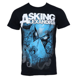 t-shirt metal men's Asking Alexandria - Hourglass - PLASTIC HEAD - PH7039
