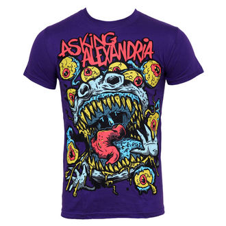 t-shirt metal men's Asking Alexandria - Eyeballs - PLASTIC HEAD - PH5926