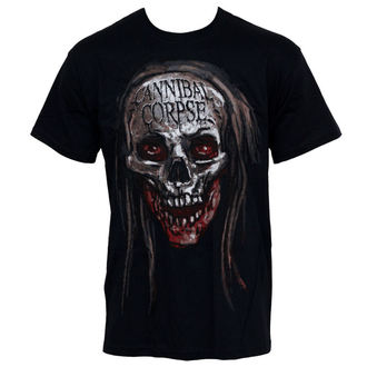 t-shirt metal men's Cannibal Corpse - Skull - PLASTIC HEAD - PH7110
