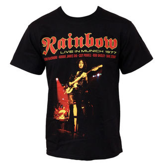 t-shirt metal men's Rainbow - Live In Munich - PLASTIC HEAD - PH5802