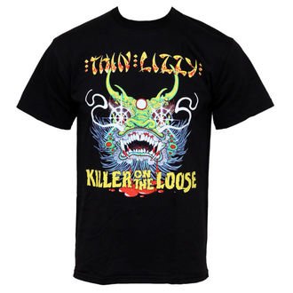 t-shirt metal men's Thin Lizzy - Killer On The Loose - PLASTIC HEAD - PH5455
