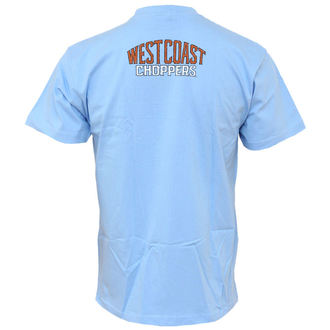 t-shirt men West Coast Choppers - Logo Wings - Blue