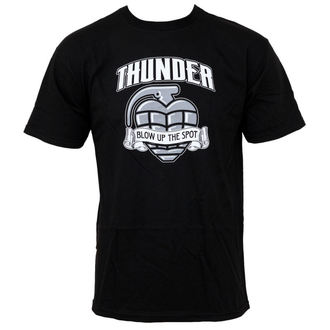 t-shirt street men's - Blow Up - THUNDER - Black