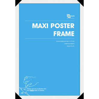 frame to poster (61x91,5 cm) - White - GB Posters - FMMXA1WH