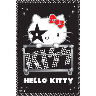 poster Hello Kitty - Kiss Tour - No Germany - GB Posters - GN0665