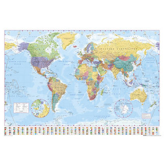 poster World Map 2012 - GB Posters - GN0214