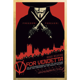poster V For Vendetta One Sheet - GB Posters - FP2713