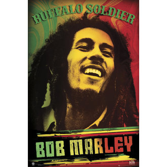 poster Bob Marley - Buffalo Soldier - GB Posters - LP1470