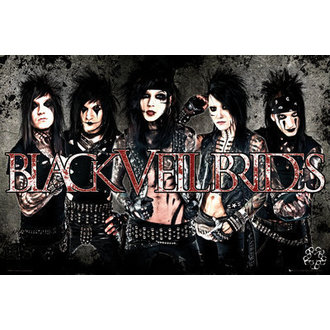 poster Black Veil Brides - Leather - GB Posters - LP1454
