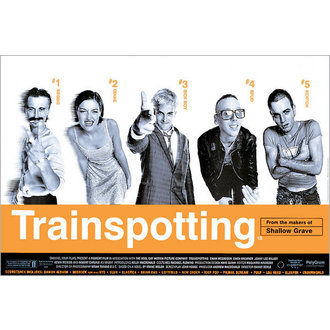 poster Trainspotting Film Score - GB Posters - FP0288
