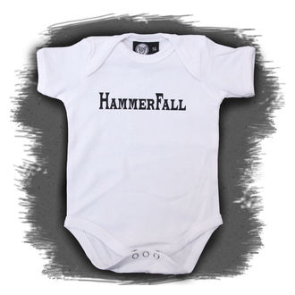 points children's Hammerfall - Logo - White, Metal-Kids, Hammerfall