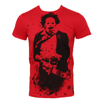 t-shirt men Texas Chainsaw Massacre - Red - PLASTIC HEAD - PH7229
