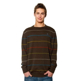 sweater men's Horsefeathers - Backwards - BROWN