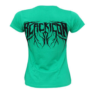 Women's t-shirt BLACK ICON - Cricket - Green