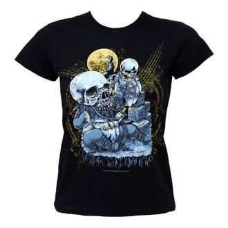 t-shirt hardcore women's - Smash Baby Smash - BLACK ICON - DICON037A
