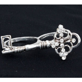 ring DRACULA CLOTHING - Silver Key Ring