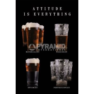 poster Attitude Is Everything - Pyramid Posters - PP31518