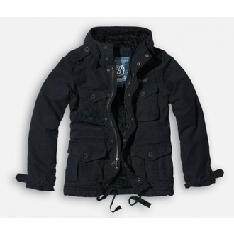 jacket men winter BRANDIT - Vintage Diamond - Black - 3102/2